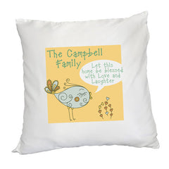 Cushion Cover Personalised 'Let This Home Be Blessed' - Luxe Gift Store