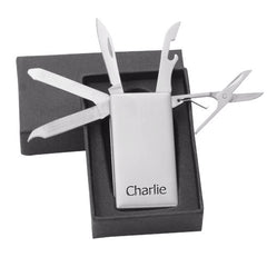 Multi Tool Personalised Money Clip - Luxe Gift Store