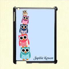 Owl Personalised Tablet and iPad Case - Luxe Gift Store