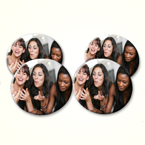 Photo Personalised Set of Four Coasters
