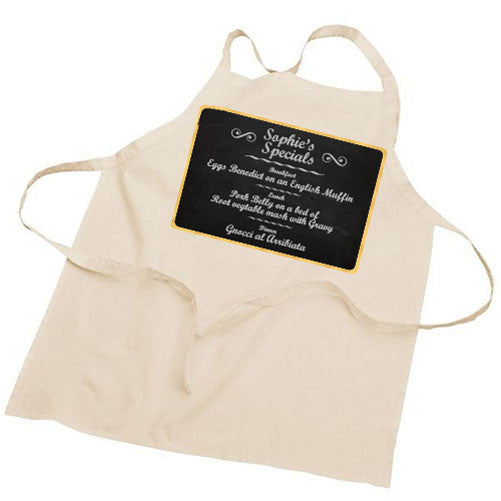 'Special Recipe Dishes' Personalised Apron