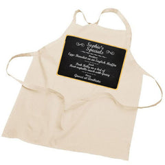 'Special Recipe Dishes' Personalised Apron - Luxe Gift Store