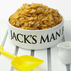 Men's Personalised Super Large Man Bowl - Luxe Gift Store