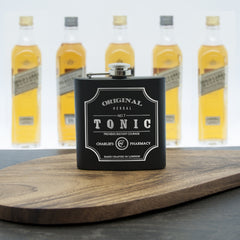Tonic Vintage Personalised Hip Flask - Luxe Gift Store