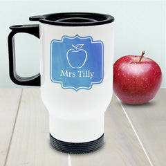 Teacher's Personalised 'World's Best TEA-cher' Travel Mug - Luxe Gift Store - 1