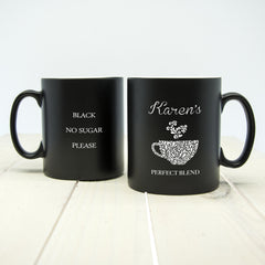 Silhouette Perfect Blend Personalised Mug - Luxe Gift Store - 2