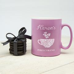 Silhouette Perfect Blend Personalised Mug - Luxe Gift Store - 1