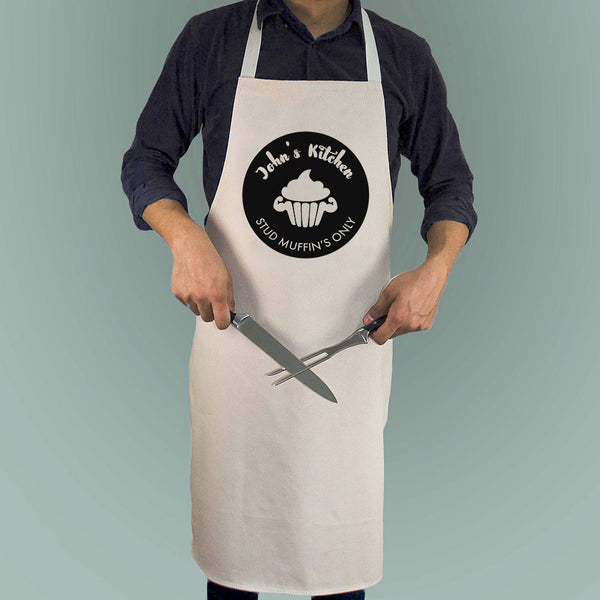 'Stud Muffin' Personalised Apron