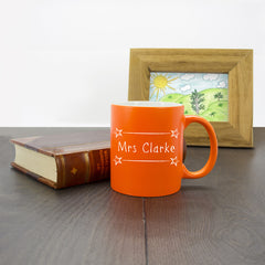 Teacher's 'The Best Teacher's Lessons Can Never Be Erased!' Personalised Mug - Multicoloured - Luxe Gift Store