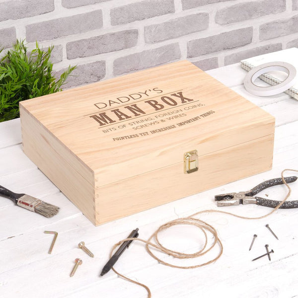 Men's Personalised Ultimate Man Box