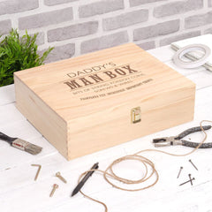 Men's Personalised Ultimate Man Box - Luxe Gift Store