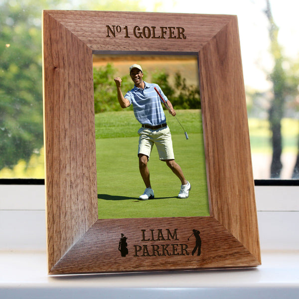Top Golfer Personalised Photo Frame