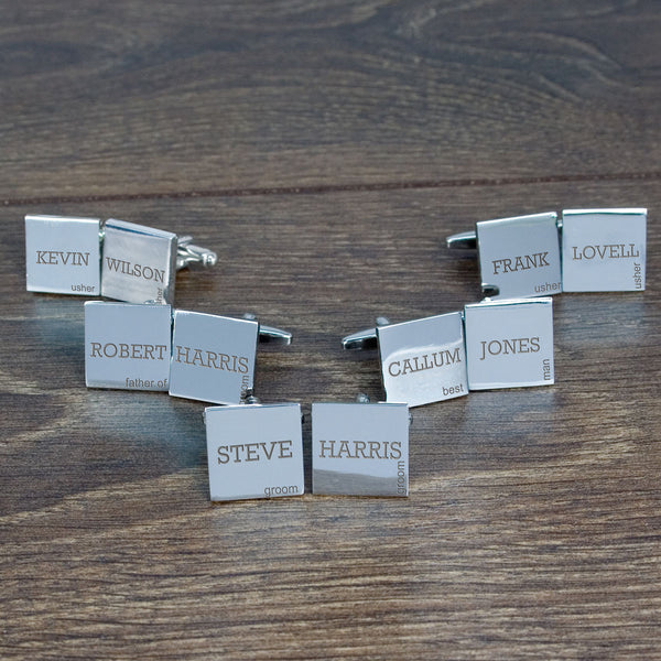 Wedding Group Cufflinks Set of 5