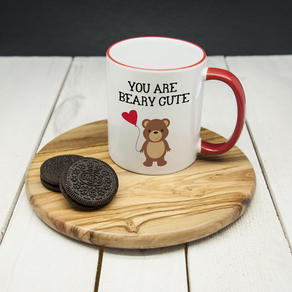 'You Are Beary Cute' Mug (Non-Personalised)