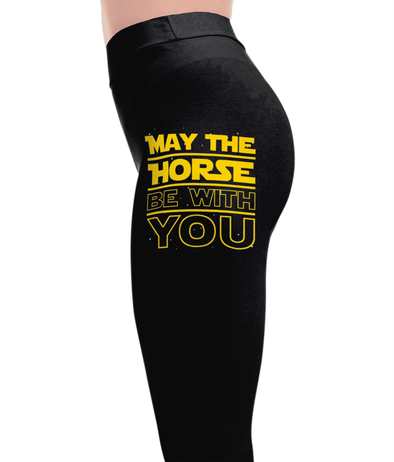 May The Horse - Horse Leggings