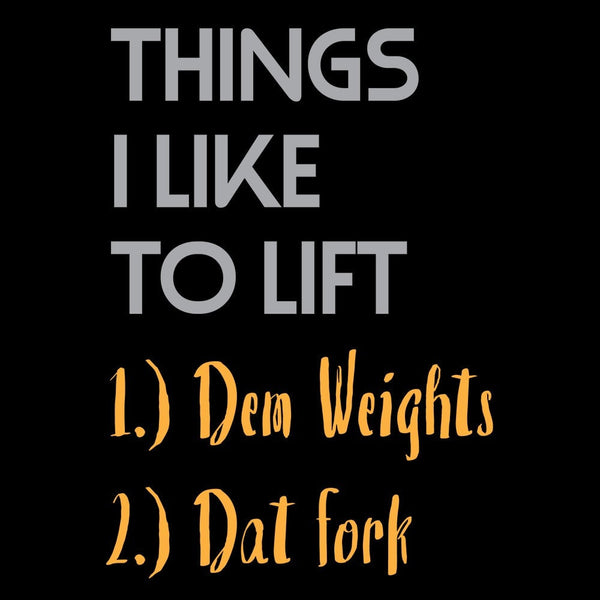 Things I Like To Lift - Fitness and Wit Leggings
