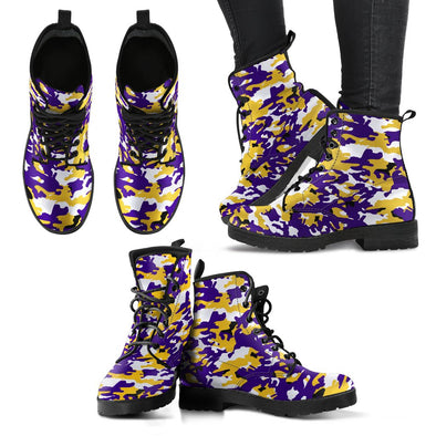 Baltimore Camo Pattern Boots