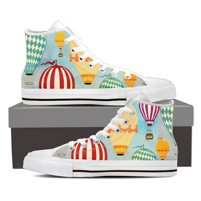 Hot Air Balloon Pattern Shoes