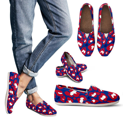 Buffalo Leopard  Pattern  Casual Shoes