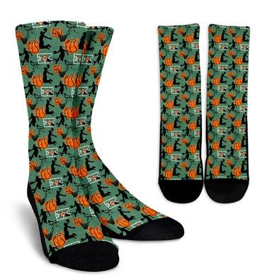 Basketball Socks (Green)