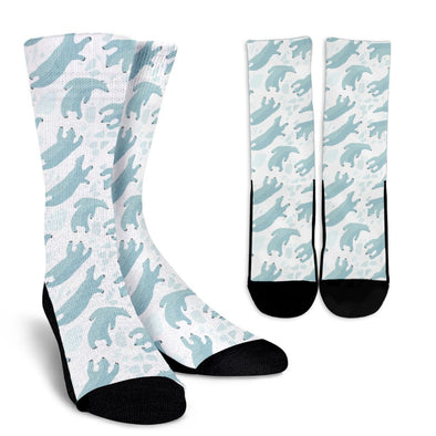 Polar Bear Pattern Socks
