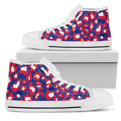 Buffalo Leopard  Pattern  High Tops
