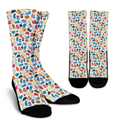 Cats Pattern Socks