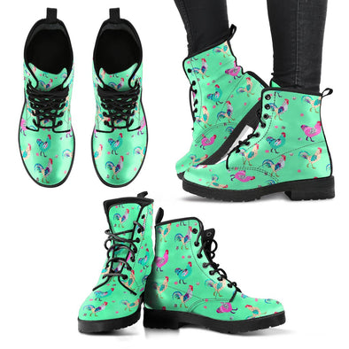 Funky Chicken Boots (Light Green)