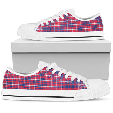 Buffalo Tartan Pattern Low Tops