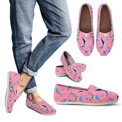 Dolphins Casual Shoes (Pink)
