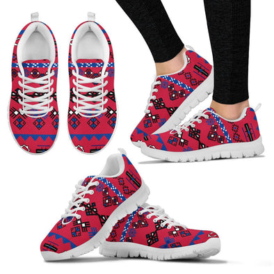 Buffalo Aztec Pattern Sneakers