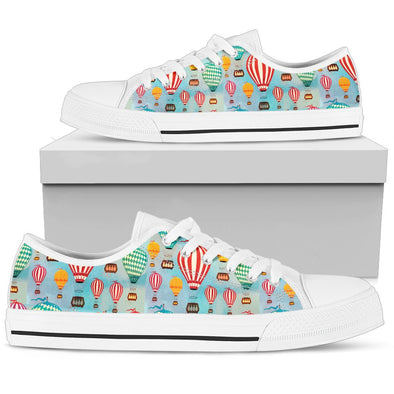 Hot Air Balloon Low-Top Pattern Shoes