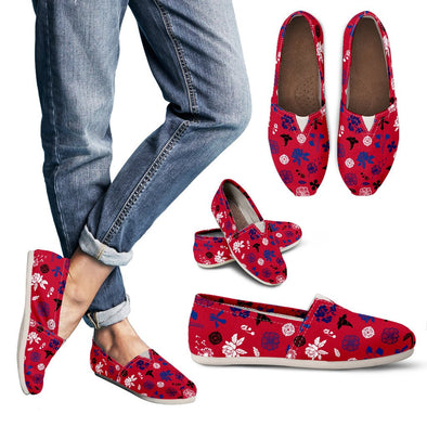 Buffalo Floral Pattern Casual Shoes
