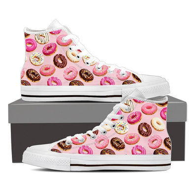 Donuts and Sprinkles Pattern Shoes