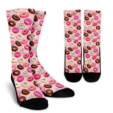 Donuts and Sprinkles Pattern Socks