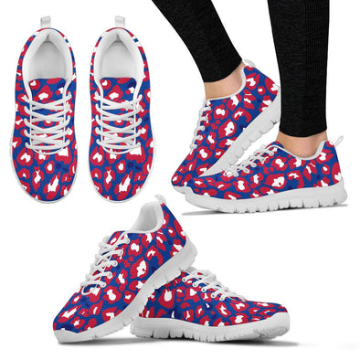 Buffalo Leopard Pattern Sneakers