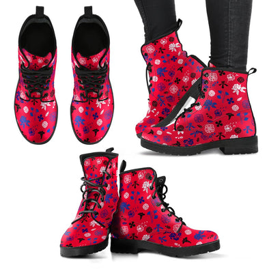 Buffalo Floral Pattern Boots
