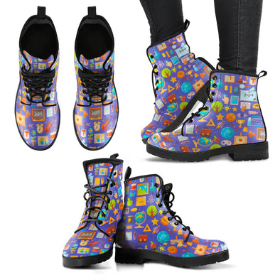 Teacher Pattern Boots