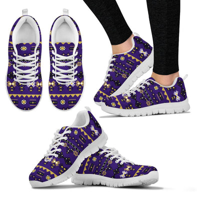 Baltimore Aztec Pattern Sneakers