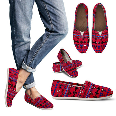 Buffalo Aztec Pattern Casual Shoes