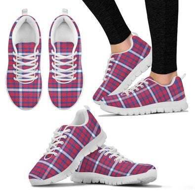 Buffalo Tartan Pattern Sneakers
