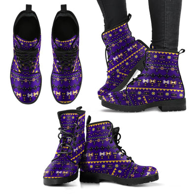 Baltimore Aztec Pattern Boots