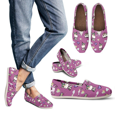 Unicorn Pattern Casual Shoes (Pink)