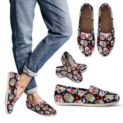 Sugar Skull Casual Shoes