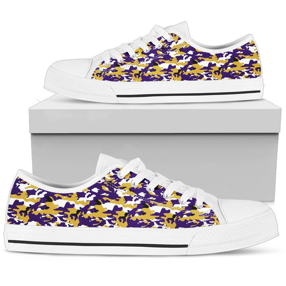 Baltimore Camo Pattern Low Tops