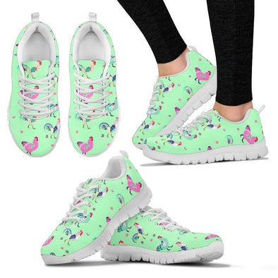 Funky Chicken Sneakers (Light Green)
