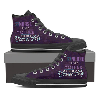 I'm A Nurse and Mother -  Hi-Tops, Low Tops, & Casual Shoes