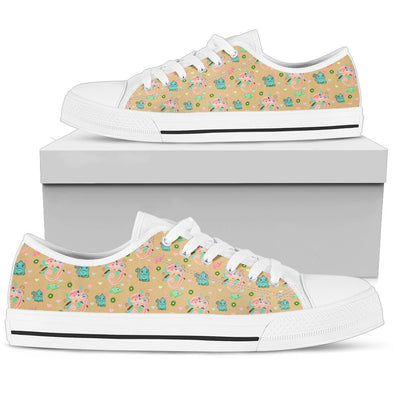 Cinnamon Chameleon Low-Top Pattern Shoes