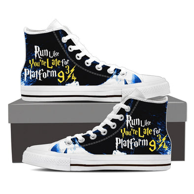 Run Like You're Late Platform 9 3/4 Hi-Tops, Low Tops, & Casual Shoes