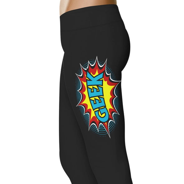 Super Geek - Geek Leggings